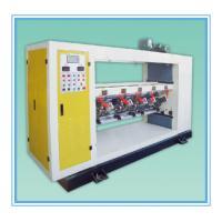 lift-down type high speed slitting scorer machine factory