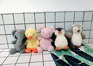 China Sweet Cute Pet Plush Toy , Bird Penguin Stuffed Toy With Long Neck / Sound on sale