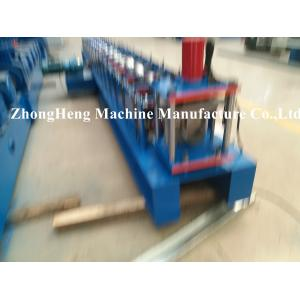 China 0.4 - 0.6mm thickness Half Round Gutter Forming Machine for Metal Downspout PLC control on sale