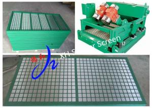China MI Swaco Mongoose Steel Frame Shaker Screen for Offshore Drilling on sale
