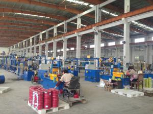 China DC 3 phase Annealing Type PVC Extrusion Machine Extrude BV Building Wire on sale
