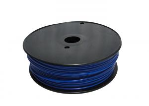 China ABS 3.0mm 3D Printing Material Blue For Makerbot / UP 3D Printer on sale
