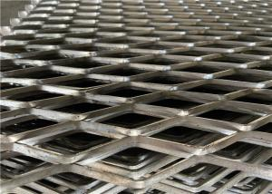 China Perforated Flattened Expanded Metal Wire Mesh High Durable For Screening Security on sale