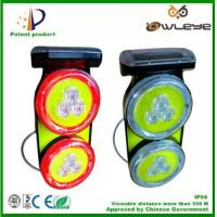Solar Wireless traffic lights Road side solar Traffic Lamps traffic warning light flare traffic emergency warnling light