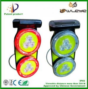 China Solar Wireless traffic lights Road side solar Traffic Lamps traffic warning light flare traffic emergency warnling light on sale