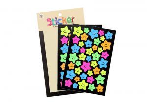 China Well Kiss Cutting Star Paper Kids Sticker Printing Star Paper Sticker Kids Sticker on sale