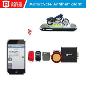 China Easy install motorcycle anti-theft gps tracker alarm with free APP/website tracking device on sale