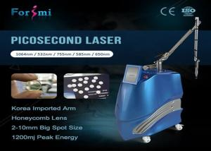 China NEW Laser Pico SecondTatoo Removal Q switch PicoSecond laser with 1064nm 532nm 755nm on sale