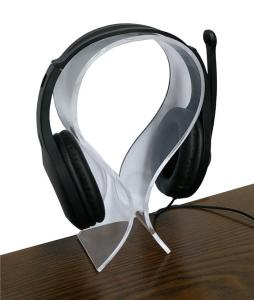 China OEM ODM Headphone Display Stand , HS-057 Headphone Display Rack Simple Structure on sale