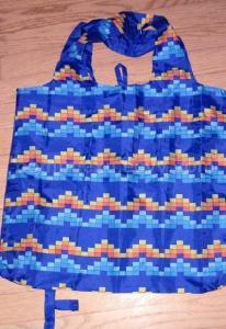 China Reusable Polyester Bags, Screen Printing Foldable Bag, Customized Handbag on sale