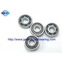 China Miniature Radial Ball Bearings 8*22*7mm Open Type 608 Bearing Nylon Cage on sale