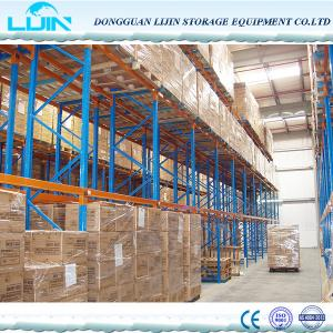 China CE Certified Heavy Duty Storage Racks Crossbeam Type Powder Coated Finishing on sale