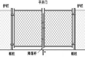 China Chain Link Fence Gate on sale