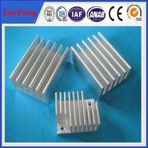 Quality aluminium extrusion for industrial supplier/ anodized heat-insulation aluminum profile for sale