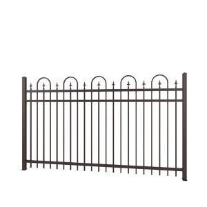 China Carbon Expanded Steel Cast Iron Fence Classical Power Coated Used For Road on sale