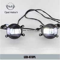 Opel Astra h car front fog light LED DRL daytime running lights daylight