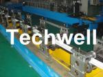 Manual / Hydraulic Decoiler PU Foam Roller Shutter Door Slat Roll Forming Machine With PLC