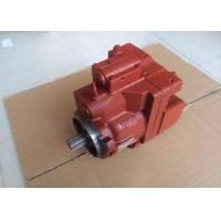 China Doosan DH80 Excavator Hydraulic Piston Pump kawasaki K5VP2D36 Red Without Gear Pump on sale