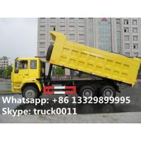 factory direct sale dongfeng dalishen 6*4 30ton dump truck for sale, 10 wheels sand transporting dump truck for sale