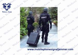 China High Power Military Portable All Cell Phone Signal Vehicle Bomb Jammer on sale