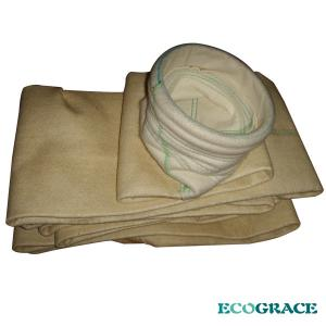 China Asphalt Mixing Plant dust filter bag Nomex Filter Bag With Water Repellent Treatment, Flame Resistance on sale