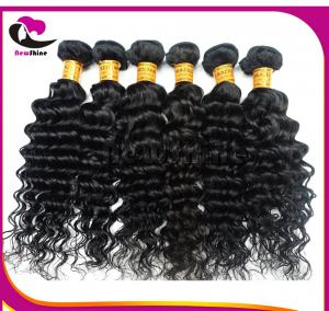 China South Africa Popular Natural Color Full Cuticle Can Bleach And Dye Color Curly Brazilian Hair 10inch-30inches on sale
