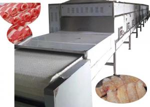 China 100KW Industrial Meat Thawing Machine , Microwave Quick Defrost Machine on sale