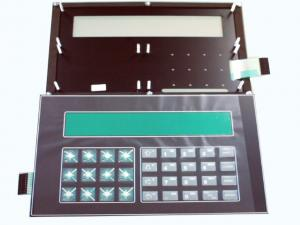 China IP68 Waterproof Transparent EL Backlight Membrane Keyboard with PC PET overlay on sale
