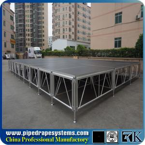 China RK 1mx1m square durable stage with aluminum portable frame on sale