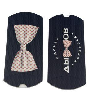 China Boîte de papier d'extension noire de cheveux blancs avec la taille et le logo adaptés aux besoins du client dans la forme d'oreiller on sale