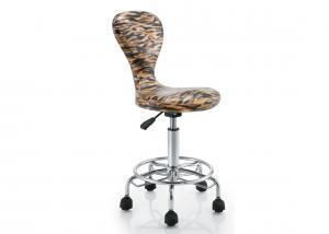 China 360 Degree Adjustable PU Bar Stools Variable Height For Office , Contemporary Style on sale