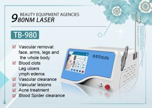 China Clinic 980 nm Diode Laser For Body Vascular Lesion / Spider Vein Removal on sale