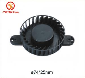 China 12 V Sleeve Bearing Electronic Cooling Fans for Copy machine , Plastic Cooler Fan on sale