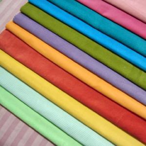 China Tela de algodón rayada llana tejida impresa reactiva on sale