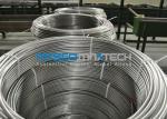 Línea inconsútil de la tubería del acero inoxidable de la inyección química ASTM A269/tubería en espiral inconsútil