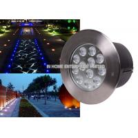 China 9W RGB LED Underground Light Inground Lamp Path Light In Square Garden on sale