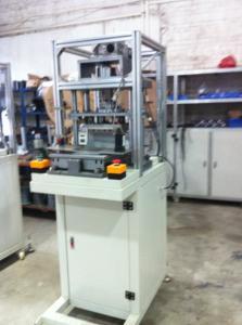 China Induction heater hot melting press with servo motor on sale