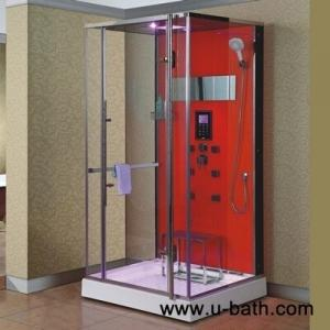 China U-Bath luxury steam sauna room,steam shower on sale