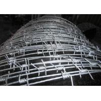 Hot Dipped Galvanized High Tensile Barbed Wire 10BWG X 12 BWG Per Roll