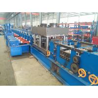 U Section Post Roll Forming Machinery Match With Guardrail With Punching Devices