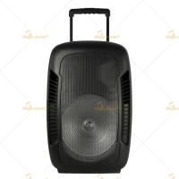 China Weatherproof Usb Powered Portable Trolley Speakers Stereo PA System on sale