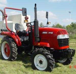 China 20hp agricultural 4wd wheel tractor jinma JM204E eec/epa certified diesel farm tractor on sale