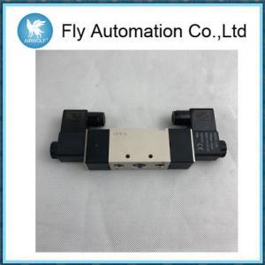 "Quality 二重コイル3/8""アルミ合金4V320-10 5/2の方法空気の電磁弁AIRTAC for sale"