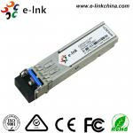 Dual Fiber SFP Optical Transceiver Module , 4.25G Single Mode 1 Gbe Sfp Lx Fiber Transceiver