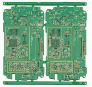 FR-4 Green Solder Mask Mobile Phone PCB copper clad board