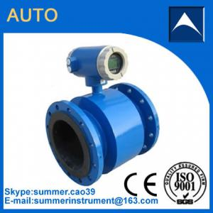 China Electromagnetic flow meter used in diary efflent with resonable price on sale