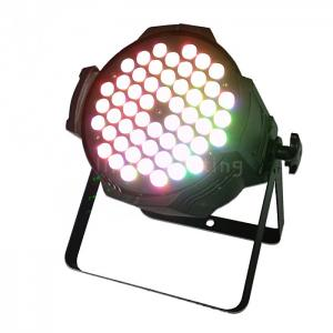 China Indoor 200W 54pcs 3w RGB 3in1 Full Color LED Stage Wash Par Lights on sale