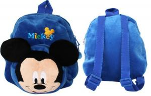 China 12 inch Blue Mickey Mouse School Bag , Personalized Toddler Backpacks on sale