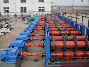 China 250KW Culvert Pipe Making Machine Motorised Hydraulic Pipe Forming Machine on sale