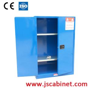 China Vertical Corrosive Hazmat Storage Cabinet With Double Wall Construction on sale